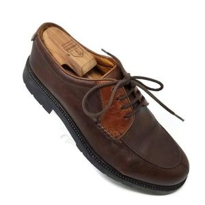 Cole Haan Country Two Tone Brown Leather Lace Up O